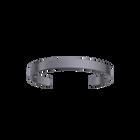 Bracelet Bandeau 14 mm, Finition ruthénium satinée image number 1