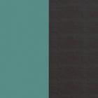 Cuir - Manchettes et Sacs, Bleu Minéral / Brun Écorce image number 1
