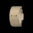 Bracelet Cuir Crème / Paillettes dorées, boucle dorée image number 1