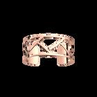 Manchette Tresse 25 mm, Finition dorée rose image number 1