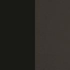 Cuir Noir Grainé / Noir Soft image number 1