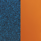Banda de vinilo, Glitter Azul / Albaricoque image number 1
