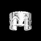 Manchette Amulette 40 mm, Finition argentée image number 1