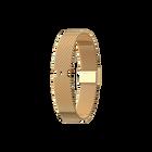 Armband Mailänder Netz, Gold Ausführung image number 1