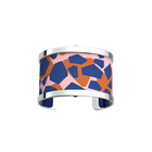Pure Bracelet, Silver finish, Giraffe / Patent Blue image number 1