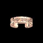 Girafe Bracelet 12 mm, Rose gold finish image number 1