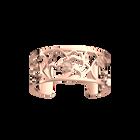 Coquelicot Bracelet 25 mm, Rose gold finish image number 1