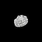 Carmen Ring, Silver finish image number 1