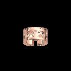Bague Papyrus 12 mm, finition dorée rose image number 1