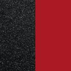 Fluid perspex insert, Black Glitter / Soft Red image number 1