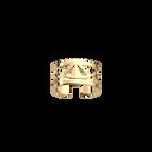 Bague Talisman 12 mm, Finition dorée image number 1