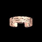 Manchette Fougères 14 mm, Finition dorée rose image number 1