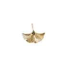 Gingko Anhänger, Gold Ausführung image number 1