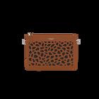 Camel La Pochette Dentelle Bag, Girafe pattern - Black lining image number 1