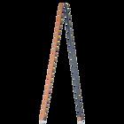 Thin shoulder strap, Camel / Navy Blue image number 1