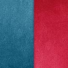 Cuir, Bleu pétrole / Framboise image number 1