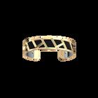 Illusion Bracelet, Gold finish, Matte Navy / Ruthenium image number 1