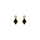 Janis Earrings, Gold finish image number 1