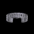Rythme Bracelet 14 mm, Matte ruthenium finish image number 1