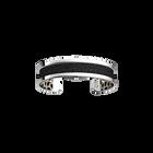 Pure Originel Bracelet, Silver finish, White Cheetah / Black Glitter image number 3