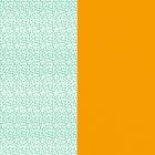 Cuir - Manchettes et Sacs, Aqua / Pollen image number 1