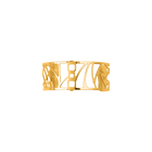 Manchette Perroquet 25 mm, Finition dorée image number 1