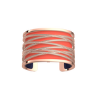 Liens Bracelet, Rose Gold finish, Coral / Metallic Navy Blue image number 1