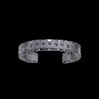 Rythme Bracelet 8 mm, Matte ruthenium finish image number 1