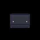 Bag Le Mini, Navy Blue / Metallic Burgundy image number 1