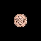 Jeton Rond Poisson, Finition dorée rose image number 1