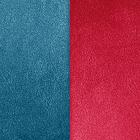 Cuir Bleu pétrole / Framboise image number 1