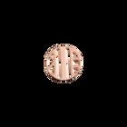 Jeton Rond Ruban, Finition dorée rose image number 1