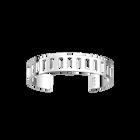 Bracelet Rythme 14 mm, Finition argentée image number 1