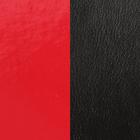 Cuir Rouge Vernis / Noir image number 1