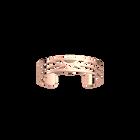 Manchette Ibiza 12 mm, Finition dorée rose image number 1
