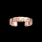 Manchette Fleurs du Nil 8 mm, Finition dorée rose image number 1