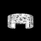 Girafe Bracelet 25 mm, Silver finish image number 1