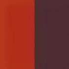 Fluid perspex insert, Orange Red / Pink Brown image number 1