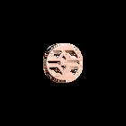 Jeton Rond Inca, Finition dorée rose image number 1