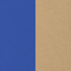 Cuir Bleu Electrique Soft / Taupe image number 1