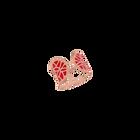 Bague Nenuphar, Finition dorée rose image number 1