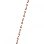 Gourmette chain, Rose gold finish image number 1