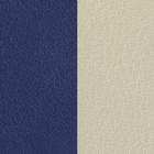 Cuir Indigo / Blanc Cassé image number 1