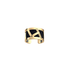 Bague Illusion, Finition dorée, Marine Mat / Ruthénium image number 1