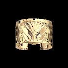 Bleuet Bracelet 40 mm, Gold finish image number 1