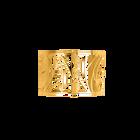 Manchette Perroquet 40 mm, Finition dorée image number 1