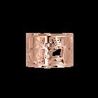 Manchette Girafe 40 mm, Finition dorée rose image number 1