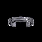 Bracelet Double 8 mm, Finition ruthénium image number 1