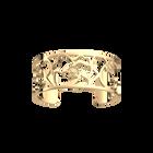 Coquelicot Bracelet 25 mm, Gold finish image number 1