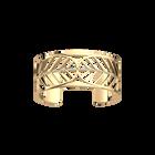 Faucon Bracelet 25 mm, Gold finish image number 1